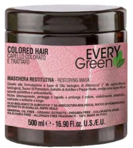 Every Green Colored Hair Maska 500 ml. Maska do farbowanych włosów