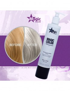 Magic Color Silver Effect 350 ml - Maska do tonowania
