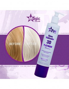 Magic Color Platinum Effect 350 ml - Maska do tonowania