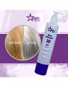 Magic Color Gray Effect 350 ml - Maska do tonowania