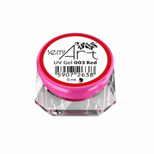 SEMI ART UV GEL 003 RED