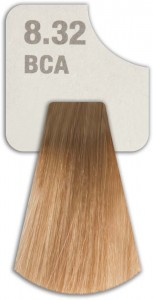 WIZOUT HAIR COLOR MIXED 8.32 BCA LIGHT HAVANA BLONDE