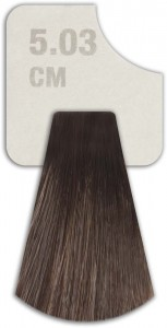 WIZOUT HAIR COLOR MIXED 5.03 CM LIGHT MOCHA BROWN