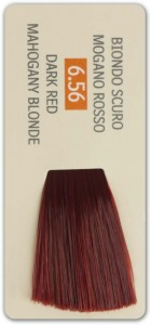 6.56 DARK RED MAHOGANY BLONDE