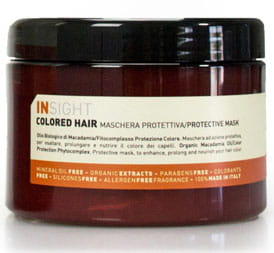 INSIGHT COLORED HAIR PROTECTIVE MASK 500 ml. Maska ochronna do włosów farbowanych.
