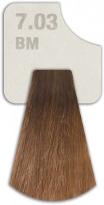 WIZOUT HAIR COLOR MIXED 7.03 BM MOCHA BLONDE