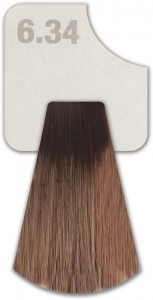 WIZOUT  HAIR COLOR COPPER GOLDEN 6.34