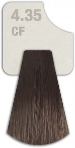WIZOUT HAIR COLOR MIXED 4.35 CF COFFEE